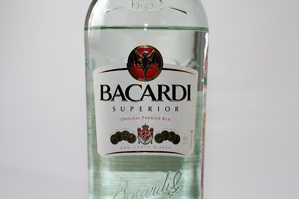 ром фото бутылок бакарди