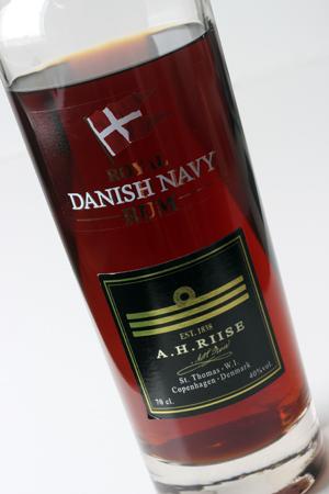 A.H.RIISE ROYAL DANISH NAVY RUM b1